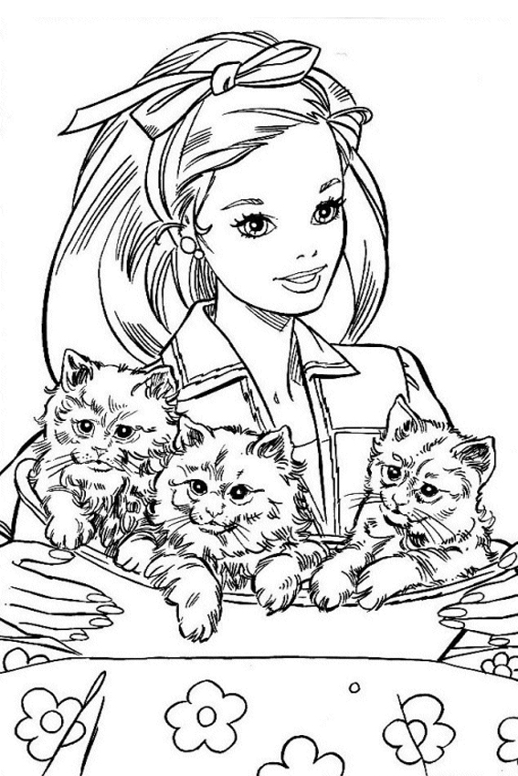 Barbie Coloring Pages Overview With Great Sheets