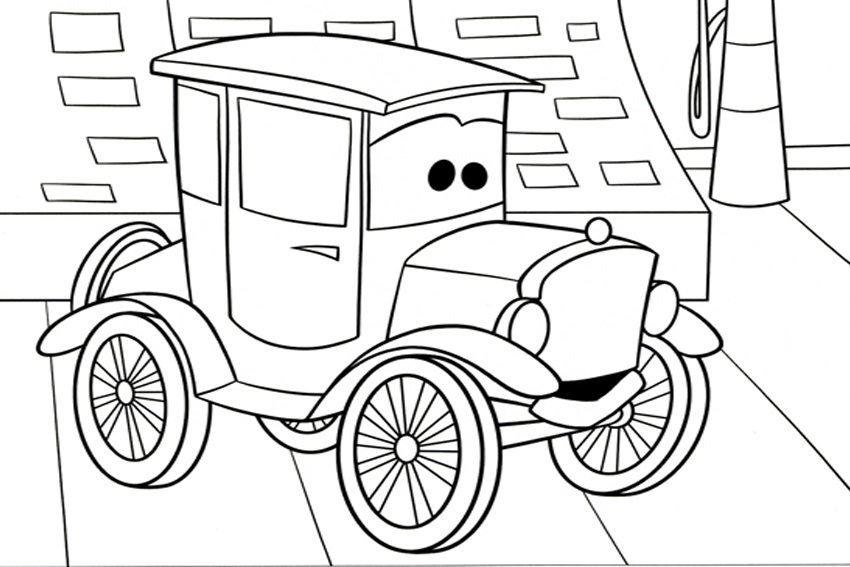 cars coloring pages mack - photo#35