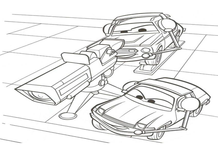 Coloring Pages From Cars Coloring Coloring Pages