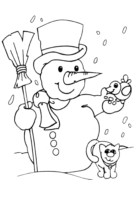 Coloring Pages For Weather Christmas Overview With Nice