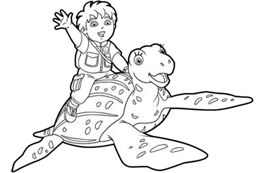 Diego Coloring Pages Overview With All Kind Of Free Sheets Diego Coloring Pages