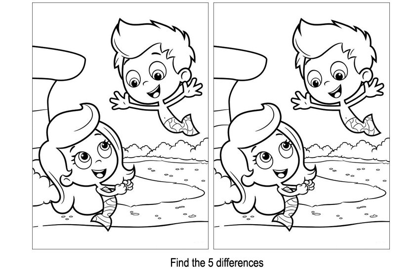 Find the differences games are instructive and braintrainers