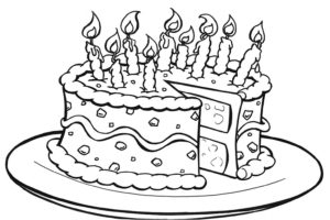 Great cake for your birthday