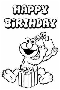 Happy Birthday Elmo