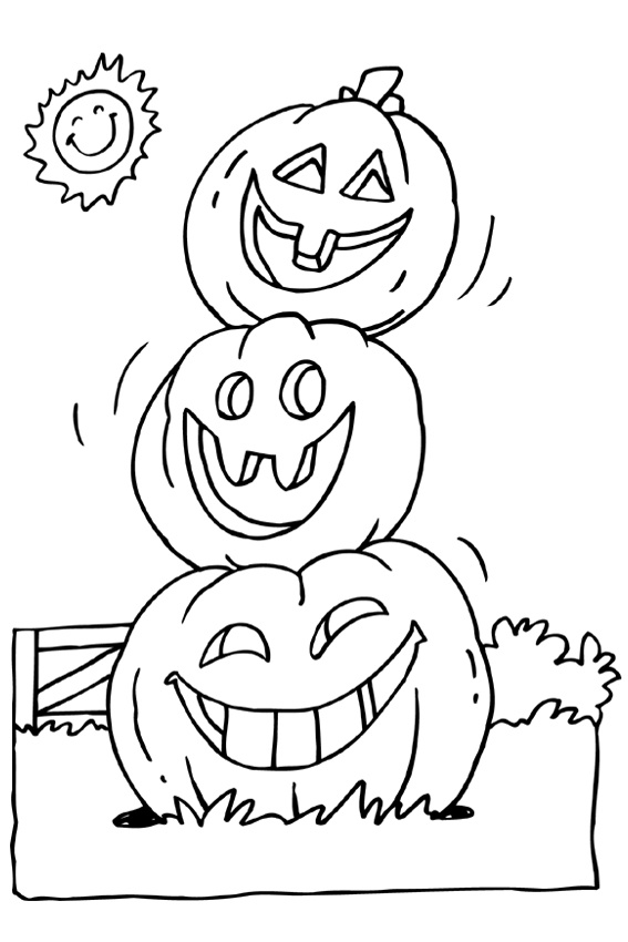 baby pumpkin coloring pages - photo#21