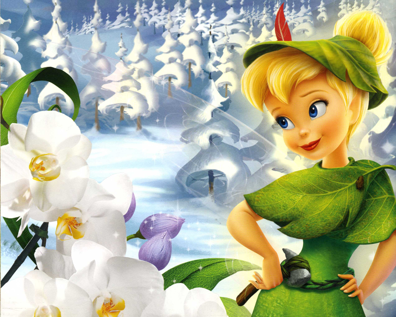 Tinkerbell Wallpaper on Kids Happy Halloween Coloring Pages