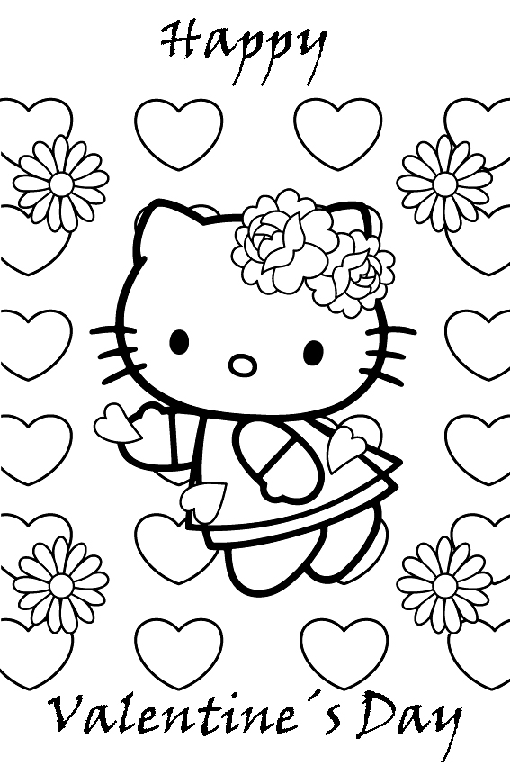 valentine coloring pages 004