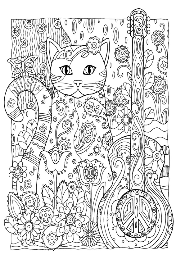 Coloring pages for adults | Only Kids Only