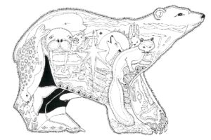 State Alaska coloring pages