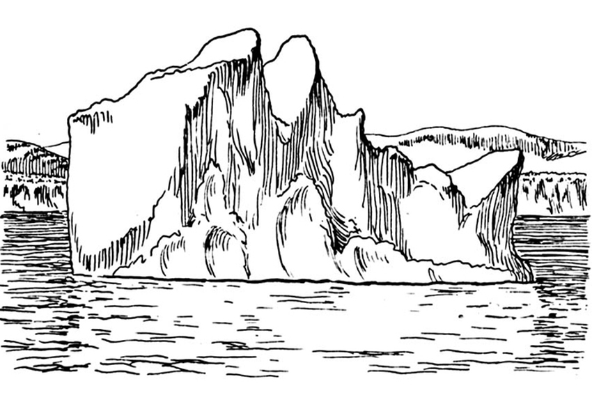 coloring pages of the | The continent Antarctica | Only Kids Only