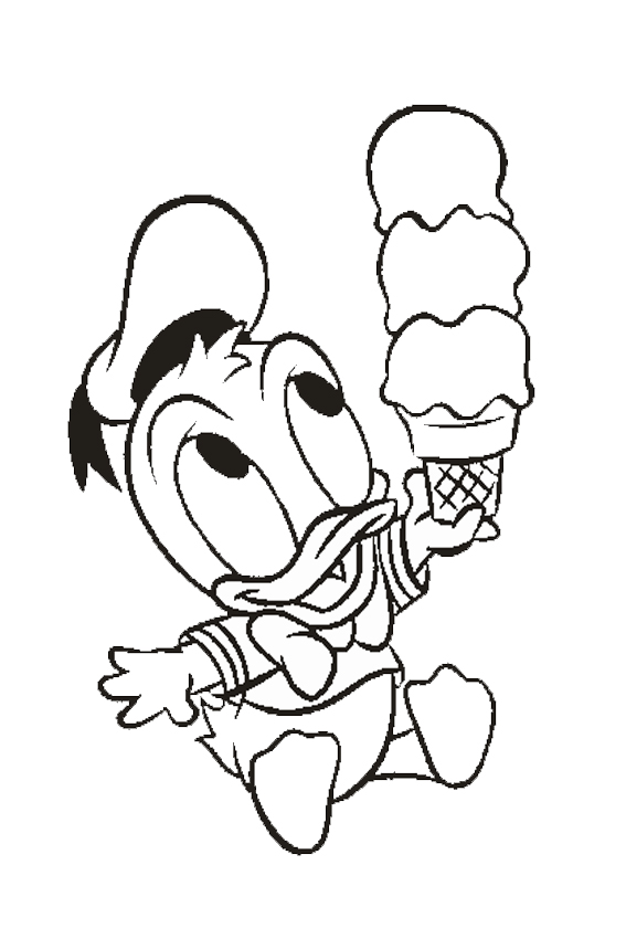 baby donald duck coloring pages - donald duck coloring pages overview with a lot of donald