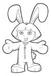 Dora the rabbit