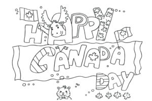 Canada Canada coloring pages