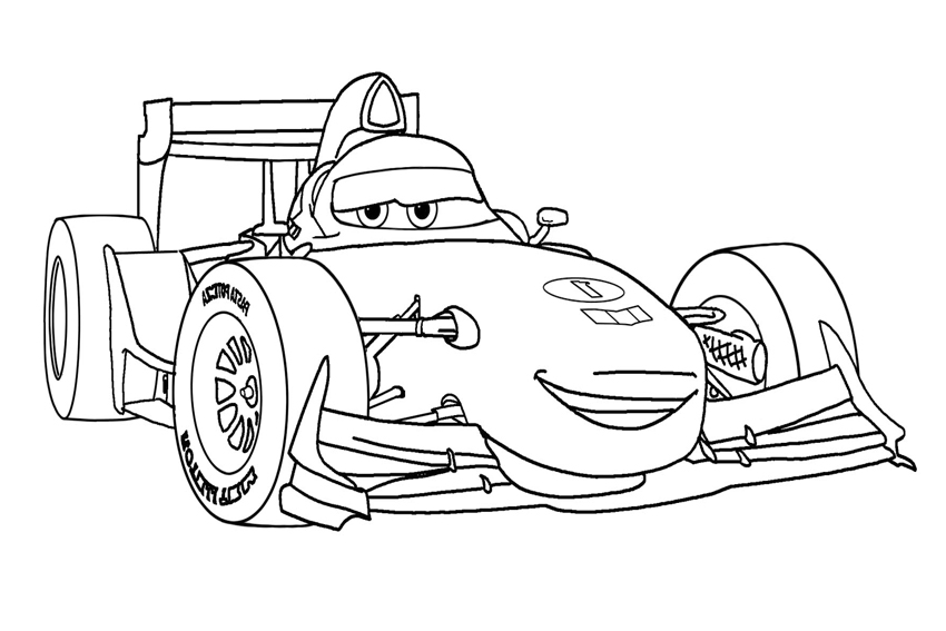francesco bernoulli - Disney Cars Coloring Pages