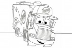 Cars coloring page of Mac