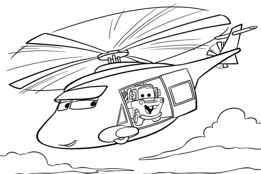- Coloring In Cars Coloring Pages From The 2 Disney Movies