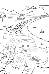Lightning McQueen drawing game