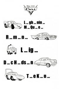 Cars spelling