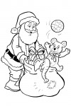 Santaclaus with presents