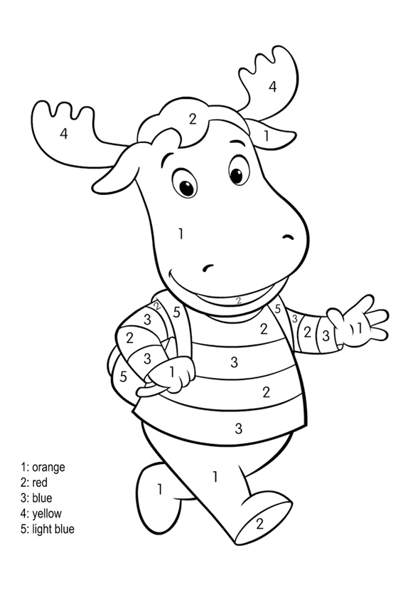 Find the right colors first to start coloring in coloring games