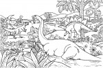 Dinosaur coloring pages 005