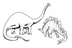 Dinosaur coloring pages 007