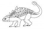Dinosaur coloring pages 008