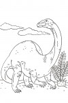 Dinosaur coloring pages 014
