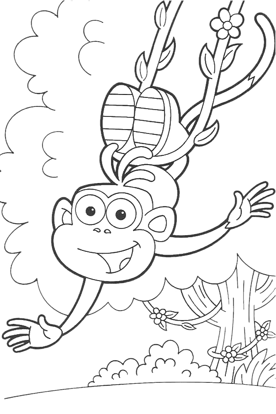 Dora Coloring Pages Overview With All Kind Of Free Sheets