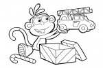 Dora coloring pages 029