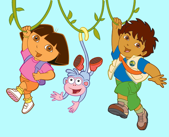Cartoon Characters Kissing Each Other : A lot of dora pictures from your favorit show the