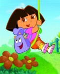 Dora with Backpack and Map