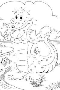Croc dot to dot sheet