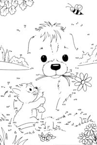 Create this cute coloring page