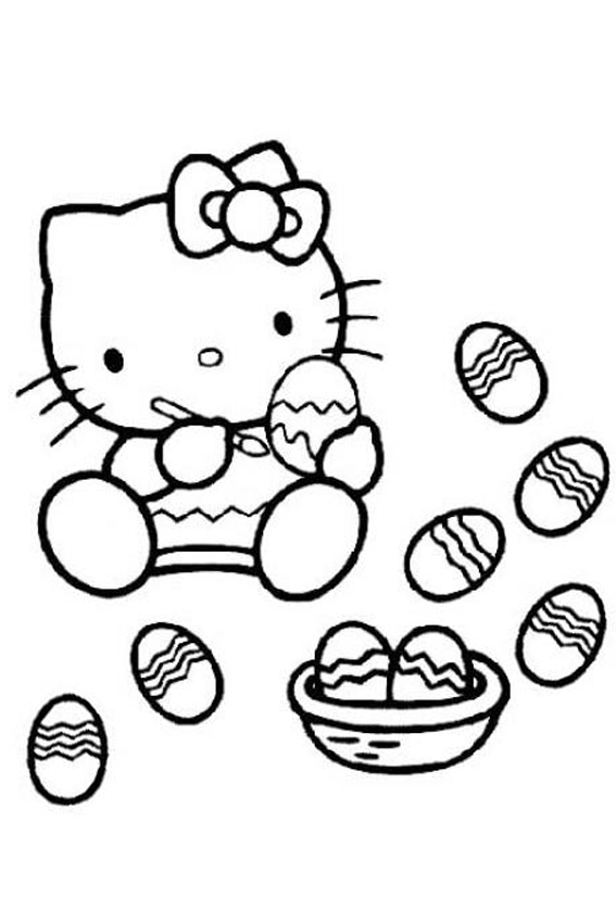 Easter coloring pages to color