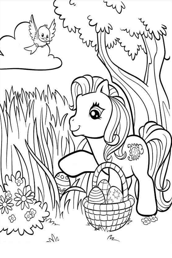 small easter coloring pages - photo#41