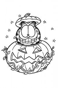 Garfield coloring page