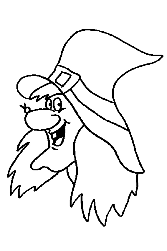 Mickey Not So Scary Halloween Coloring Pages