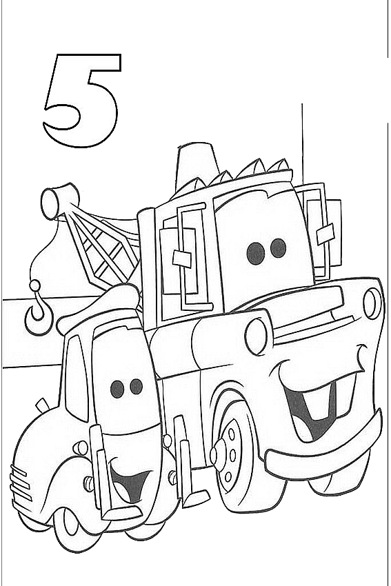 The Smurfs Cars Coloring Page For Your Birthday