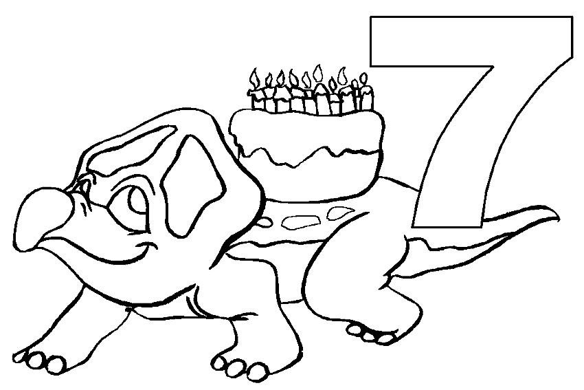 happy birthday coloring pages to color