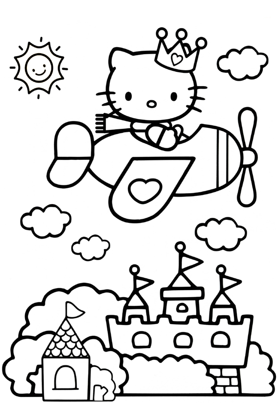 Hello Kitty Tennis Coloring Pages ~ best ideas For Printable and ...