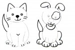 drawing a cat or a dog step 3
