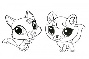 Try to make a copy of these little pets from little pet shop