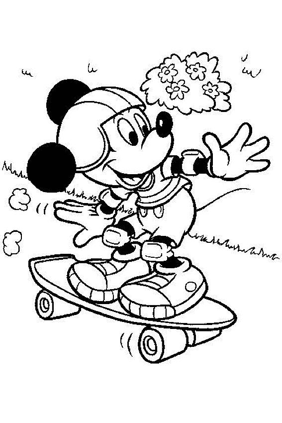 Mickey Mouse coloring pages overview with Mickey sheets