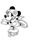 Minnie skating
