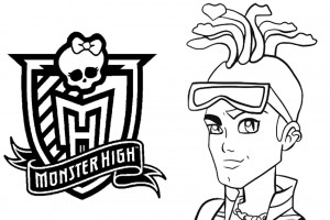 Monster High coloring pages 002