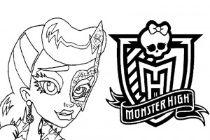 Monster High coloring pages 005