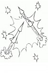 Flares coloring page