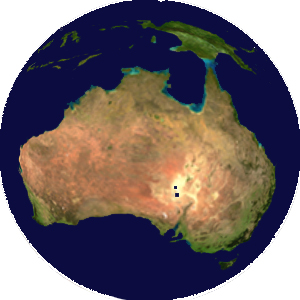 World map of Oceania