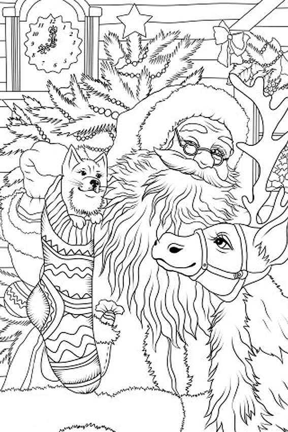 Free Printable Vintage Christmas Coloring Pages New - Mickey And ...   850x567